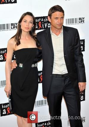 Claire Forlani and Dougray Scott Keep A Child Alive - Black Ball held at the Roundhouse - Arrivals London, England...