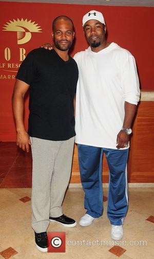 Chris Spencer and Michael Jai White