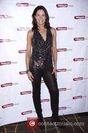 Carolyn McCormick from the TV show Law and Order  Opening night after party for the Off-Broadway production of 'Black...
