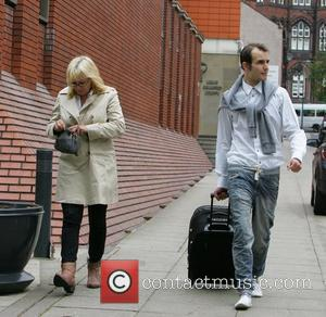 Blake Fielder-Civil leaving Leeds Crown Court after his case was adjourned until June (11). His bail conditions have been adapted...