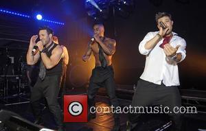 Lee Ryan, Simon Webbe, Duncan James and Antony Costa Blue perform live at G-A-Y London, England - 30.04.11
