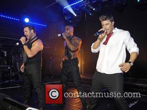 Simon Webbe, Duncan James and Antony Costa Blue perform live at G-A-Y London, England - 30.04.11