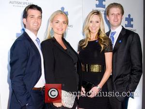 Donald Trump Jr, Eric Trump and Vanessa Trump