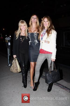 Lisa Gastineau, Susan Holmes-Mckagan, and Aj Celi Celebrities outside BOA Steakhouse  Los Angeles, California - 03.11.11
