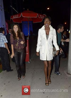 Natalie Cole Celebrities outside BOA Steakhouse Los Angeles, California - 12.08.11