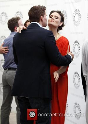 David Boreanaz and Emily Deschanel The Paley Center for Media Presents 'Bones' Los Angeles, California - 09.05.11