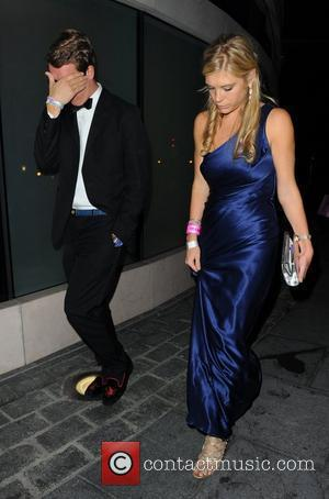 Chelsy Davy The annual Boodles Boxing Ball charity match at the Park Plaza hotel - Departures London, England - 01.10.11