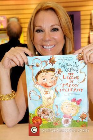 Kathie Lee Gifford promotes her new book 'The Legend of Messy M'Cheany' 2011 Book Expo America show, held at Jacob...
