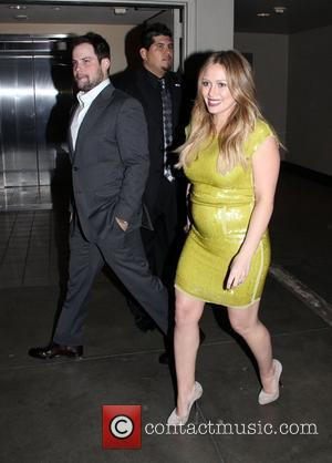 Hilary Duff, Mike Comrie and Grauman's Chinese Theatre