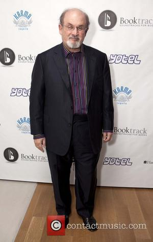 Salman Rushdie Booktrack launches it's soundtracks for e-books New York City, USA - 24.08.11