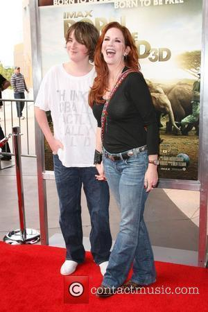 Melissa Gilbert with son Michael World premiere of Born To Be Wild 3D held at the California Science center Los...