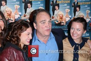 Meghan Miller of Bambi Killers, actor James Belushi and actress Tanya Fischer The Creative Coalition & Friends celebrate Broadway show...