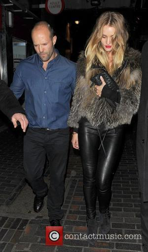 Jason Statham and Rosie Huntington-whiteley