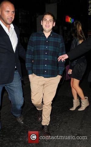 Jonah Hill leaving Box Club in Soho London, England - 13.08.11