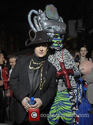 Boy George,  at Boy George's 50th Birthday celebration. London, England - 14.06.11