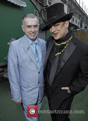 Holly Johnson and Boy George
