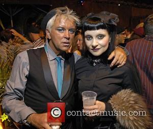 Steve Strange and Princess Juliette,  at Boy George's 50th Birthday celebration. London, England - 14.06.11