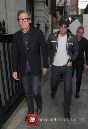 Bill Nighy and Bradley Cooper