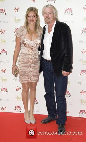 Holly Branson and Richard Branson