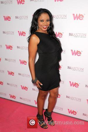 Shanice Braxton Sisters attend the launch party for their new WE tv series 'Braxton Family Values' at the London Hotel...
