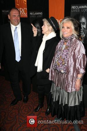 James Gandolfini and Elaine Stritch