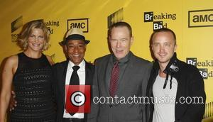 Giancarlo Esposito, Aaron Paul and Bryan Cranston