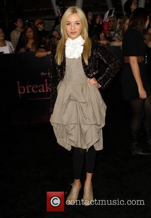 Peyton List The Twilight Saga: Breaking Dawn - Part 1 World Premiere held at Nokia Theatre L.A. Live Los Angeles,...