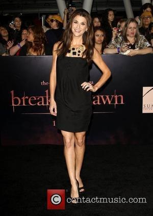 Samantha Harris The Twilight Saga: Breaking Dawn - Part 1 World Premiere held at Nokia Theatre L.A. Live Los Angeles,...