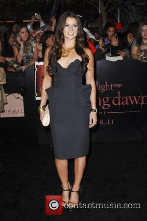 Danica Patrick  The Twilight Saga: Breaking Dawn - Part 1 World Premiere held at Nokia Theatre L.A. Live Los...