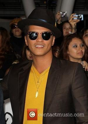 Bruno Mars The Twilight Saga: Breaking Dawn - Part 1 World Premiere held at Nokia Theatre L.A. Live Los Angeles,...