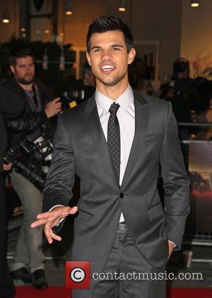 Taylor Lautner The Twilight Saga: Breaking Dawn: Part 1 film premiere, held at Westfield - Arrivals London, England - 16.11.11