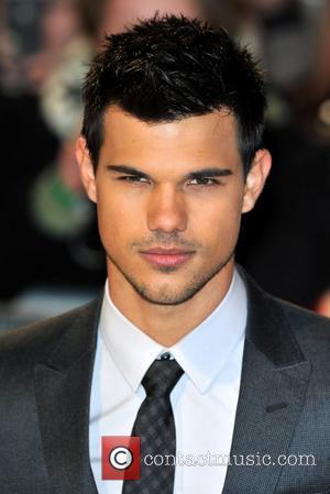 Taylor Lautner The Twilight Saga: Breaking Dawn Part 1 UK film premiere held at the Westfield Stratford - Arrivals. London,...