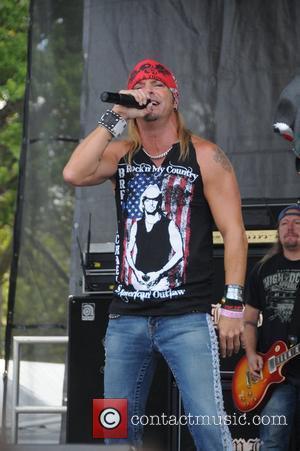 Brett Michaels and Dwayne Johnson