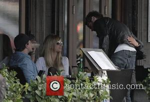 Brian McFadden arriving at Sienna Marina restaurant to have lunch with Vogue Williams and friends Sydney, Australia - 02.06.11
