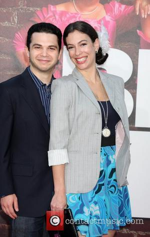 Samm Levine & date The Premiere of 'Bridesmaids' held at Mann Village Theatre - Arrivals Los Angeles, California - 28.04.11