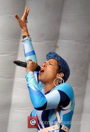 Kelis performs live at Bristol Gay Pride in Castle Park Bristol, England - 16.07.11