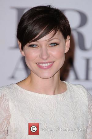 Emma Willis  The BRIT Awards 2011 at the O2 Arena - Arrivals London, England - 15.02.11