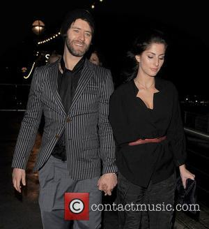 Howard Donald of 'Take That' and his girlfriend Katie Halil arriving at the Savoy Pier. The BRIT Awards 2011 afterparty,...