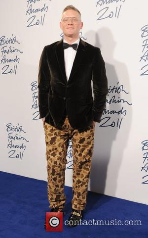 Giles Deacon  2011 British Fashion Awards held at the Savoy Hotel - Arrivals. London, England - 28.11.11