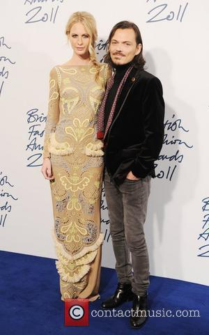 Poppy Delevigne and Matthew Williamson  2011 British Fashion Awards held at the Savoy Hotel - Arrivals. London, England -...