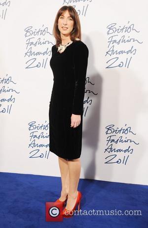 Samantha Cameron  2011 British Fashion Awards held at the Savoy Hotel - Arrivals. London, England - 28.11.11