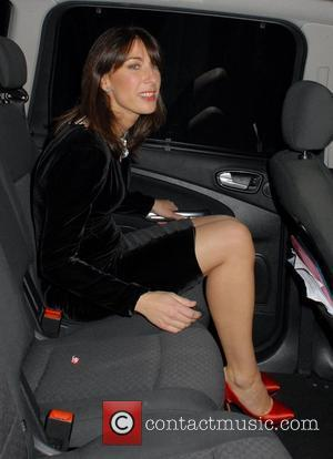 Samantha Cameron,  2011 British Fashion Awards held at the Savoy Hotel - Departures. London, England - 28.11.11