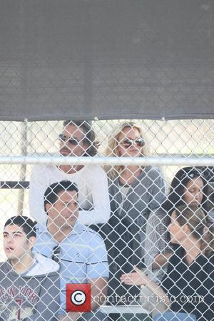 Britney Spears, Jason Trawick, Kevin Federline and Sean Preston