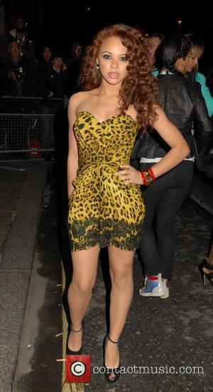 Alexis Jordan at The BRIT Awards 2011 afterparty held at the Savoy - Arrivals. London, England - 15.02.11
