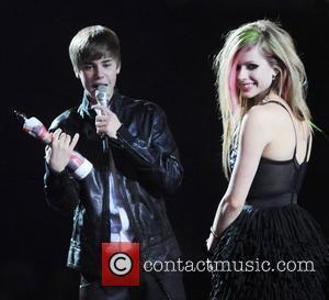 Justin Bieber and Avril Lavigne