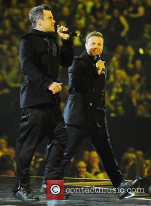 Robbie Williams, Gary Barlow and Take That