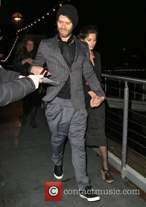 Howard Donald,  The BRIT Awards 2011 - departing from a boat at the Savoy Pier. London, England - 16.02.11
