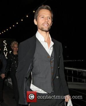 Jason Orange,  The BRIT Awards 2011 - departing from a boat at the Savoy Pier. London, England - 16.02.11