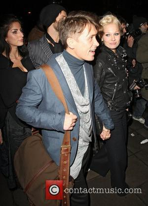 Mark Owen,  The BRIT Awards 2011 - departing from a boat at the Savoy Pier. London, England - 16.02.11