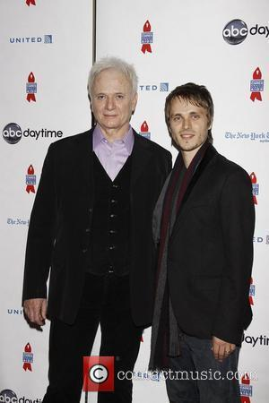 Anthony Geary and Jonathan Jackson